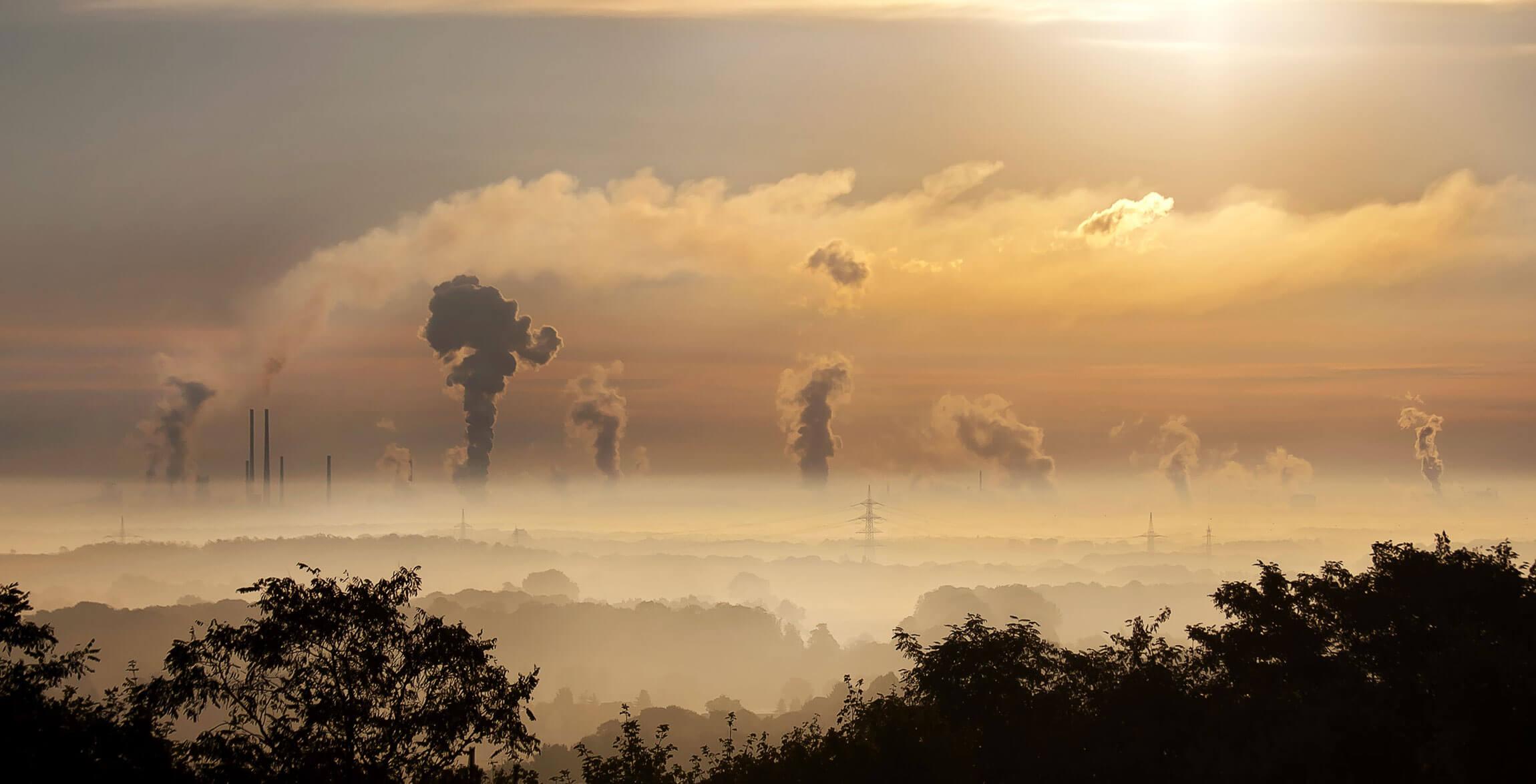 Kein schöner Anblick: Umweltschäden durch Textilindustrie
