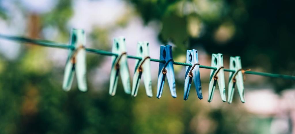 Mit Kernseife lässt sich auch Wäsche waschen