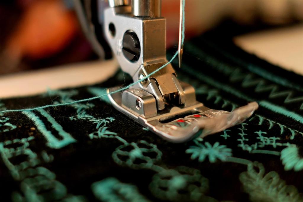 Der Grüne Knopf ist ein Sigel für Textilien
