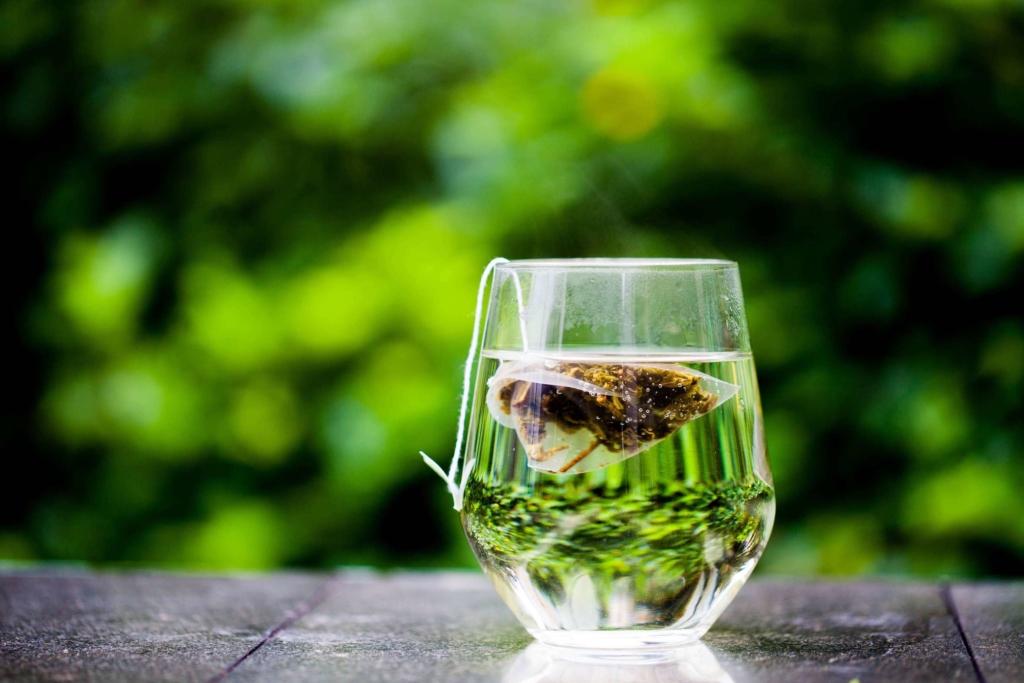 Grüner Tee Sportgetränk