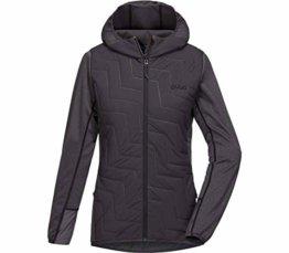 PYUA Blaze Hooded Jacket Damen Grey Mel-Almost Black Größe XS 2018 Funktionsjacke - 1