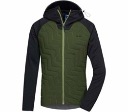 PYUA Herren Snug-Y Jacke, Black-Rifle Green, S - 1