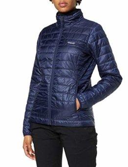 Patagonia Damen W's Nano Puff JKT Jacket, Klassisch Marineblau, S - 1