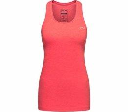 PYUA Clear Tank Top Damen Hibiskus pink Größe XS 2019 ärmelloses Shirt - 1