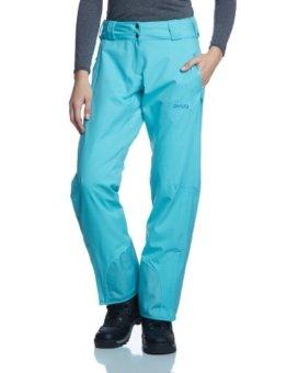 PYUA Damen 2-Lagen Gefütterte Hose Craft, Capri Blau, XL, 10130-140 - 1