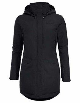 VAUDE Damen Jacke Skomer Wool Parka, parka, black, 40, 41560 - 1