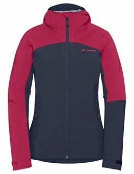 VAUDE Damen Moab Rain Jacket Regenjacke für Mountainbikerinnen, eclipse, 38, 408617500380 - 1