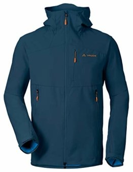 VAUDE Herren Jacke Men's Roccia Softshell Hoody, Softshelle, baltic sea, 50, 400793345300 - 1