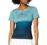 adidas Damen Parley T-Shirt, Blue Spirit/Legend Ink, XS - 1